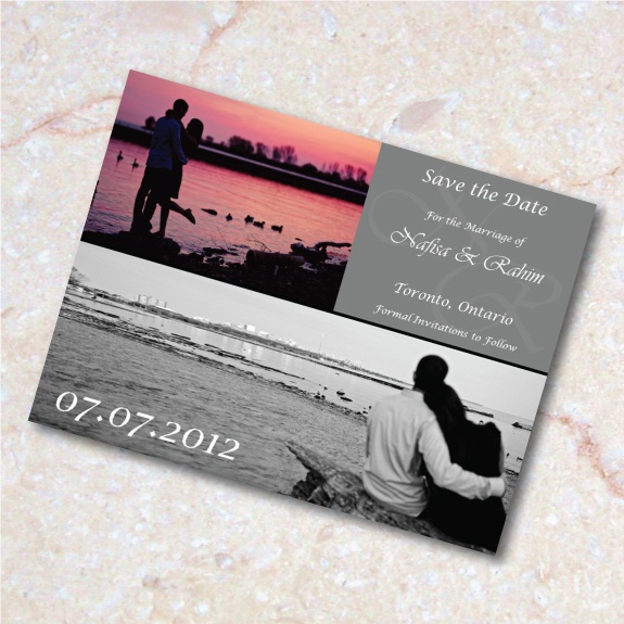 Save the Date e-vite for my own wedding!